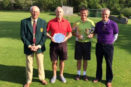 David Rowland, Steve Francis Senior County Champion & James Ward