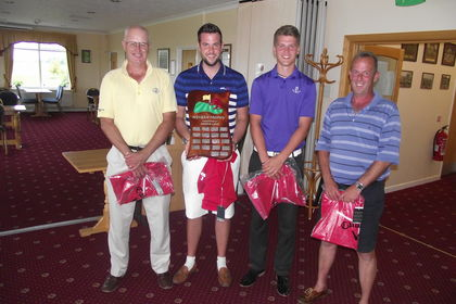 Burnham & Berrow GC - Wyvern Trophy Winners