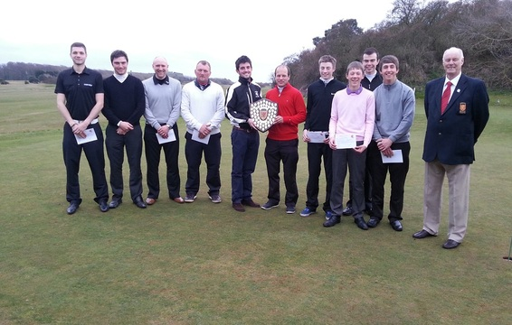 County Foursomes Prize Winners