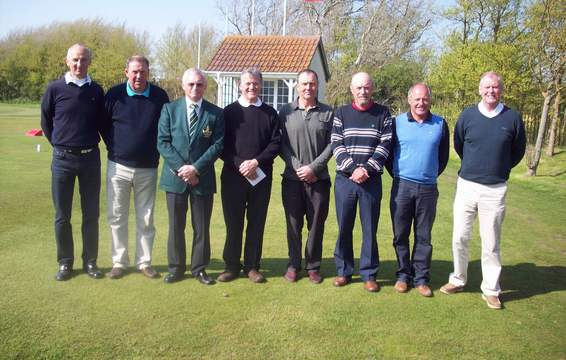 West of England Seniors Open Prize winners