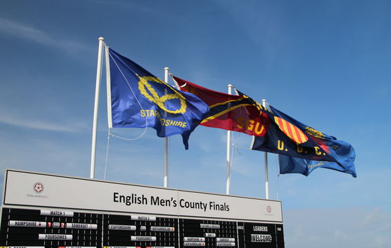 The Finalists County Flags