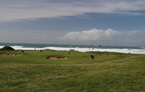 4th green at Trevose