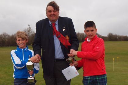 Freddie Turnell Under 14s & Jack Coward Under 12s