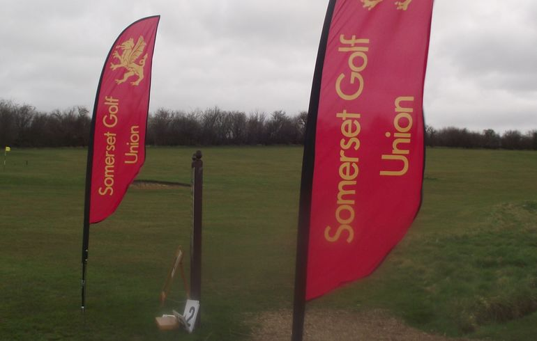 Our new banners on display